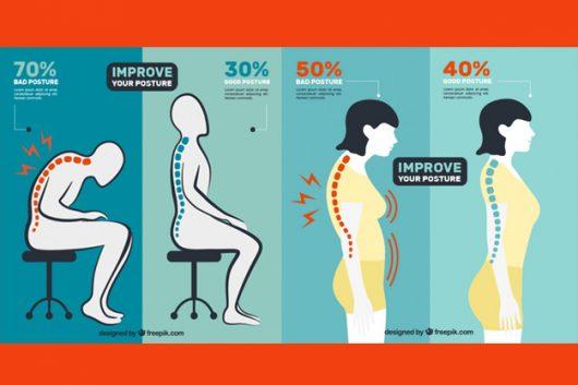 正しい姿勢で体幹を鍛える