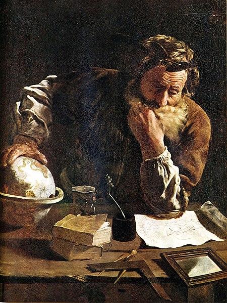 アルキメデスの定理 - 紀元前250年頃 | 世界の発明・発見