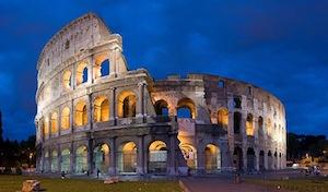 すべての道はローマに通ず! 東京ドーム級のスケールのコロッセオ