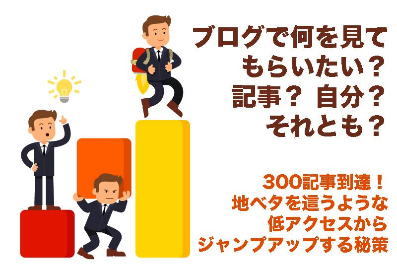 【300記事到達!リアルなアクセス状況】300記事投入もPVは低レベル!