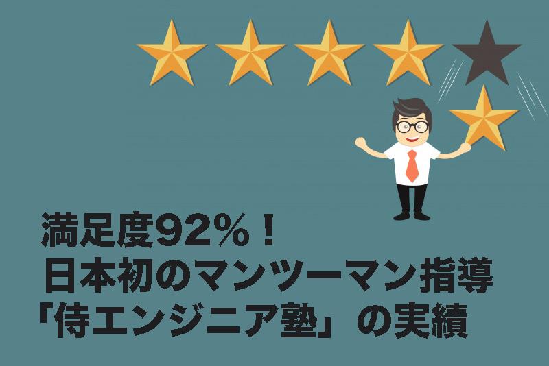 「侍エンジニア塾」は個人に寄り添った「プログラミングスクール」マンツーマン指導