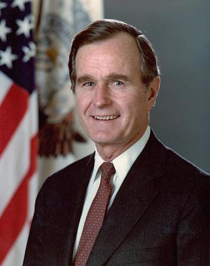 """流行語英語の死語「bushlips」アメリカの第41代大統領、ジョージ・H・W・ブッシュ(198年〜1993年任期)の""""誠意のない話し方""""から付けられた。"""