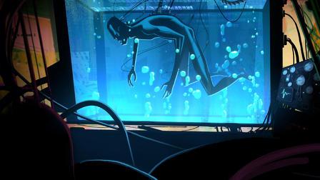 『ラブ、デス&ロボット(Love,Death & Robots)』「ジーマ・ブルー(Zima Blue)」(10分)
