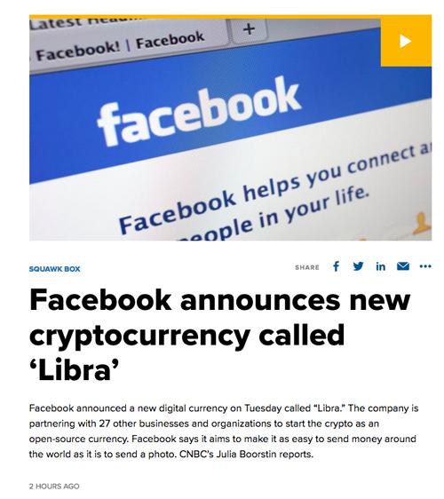 【フェイスブックが仮想通貨を開始?】2020年からスタートは本当? Facebook plans to help launch Libra in 2020 from Japan Rsearch