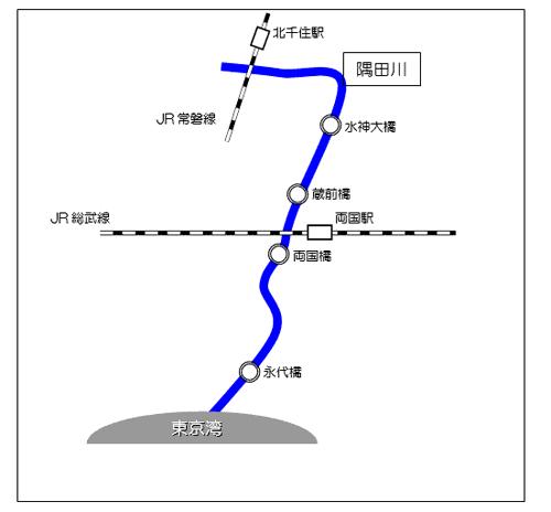 隅田川の「水神大橋」~「永代橋」を中心に約3000匹の魚の大量死が確認