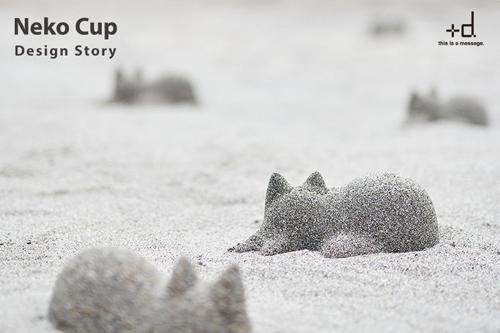 森井ユカさんによる『ネコカップ』のデザイン物語