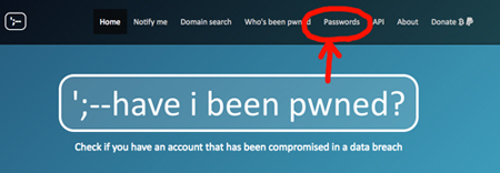 「Have I Been Pwned」でパスワードの漏洩を確認する