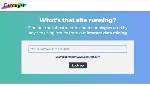 【Webサーバを調べる】公開サイトのレンタルサーバをつきとめるサイト「Netcraft Site Report」