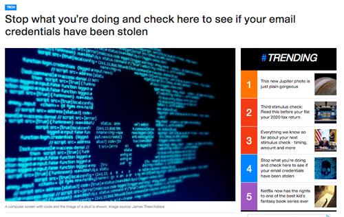 【すぐ2段階認証を有効に】Gmailなどのパスワード数十億件が流出